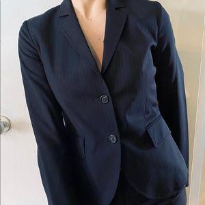 J.crew navy suit blazer top